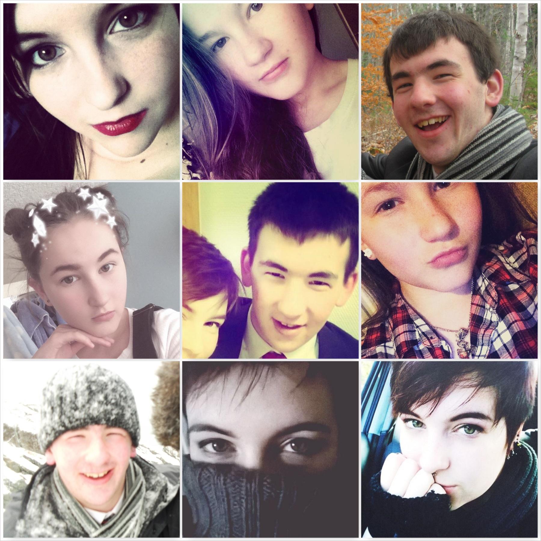 bekah-dan-and-cait-selfies