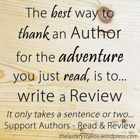 read-and-review-the-last-krystallos How to Thank an Author
