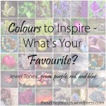 Colours to Inspire - What's Your Favourite - The Last Krystallos...