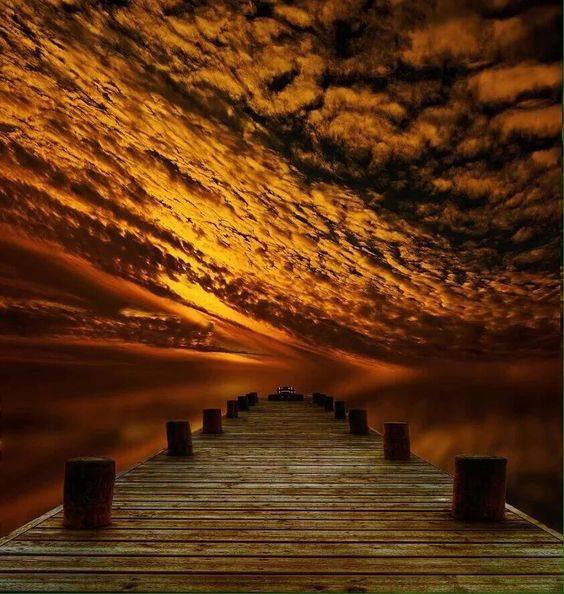 Mid-Week-Flash-Challenge-The-Albatross- mbies55-Sunset-at-Pier