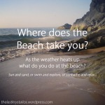 Where does the Beach take you... - The Last Krystallos