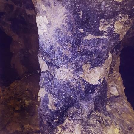 Treak Cliff Cavern - Castleton - Blue John Pillar - The Last Krystallos