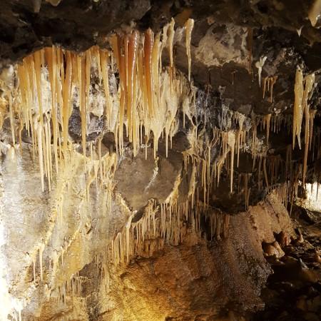 Treak Cliff Cavern - Castleton - Stalactites - The Last Krystallos