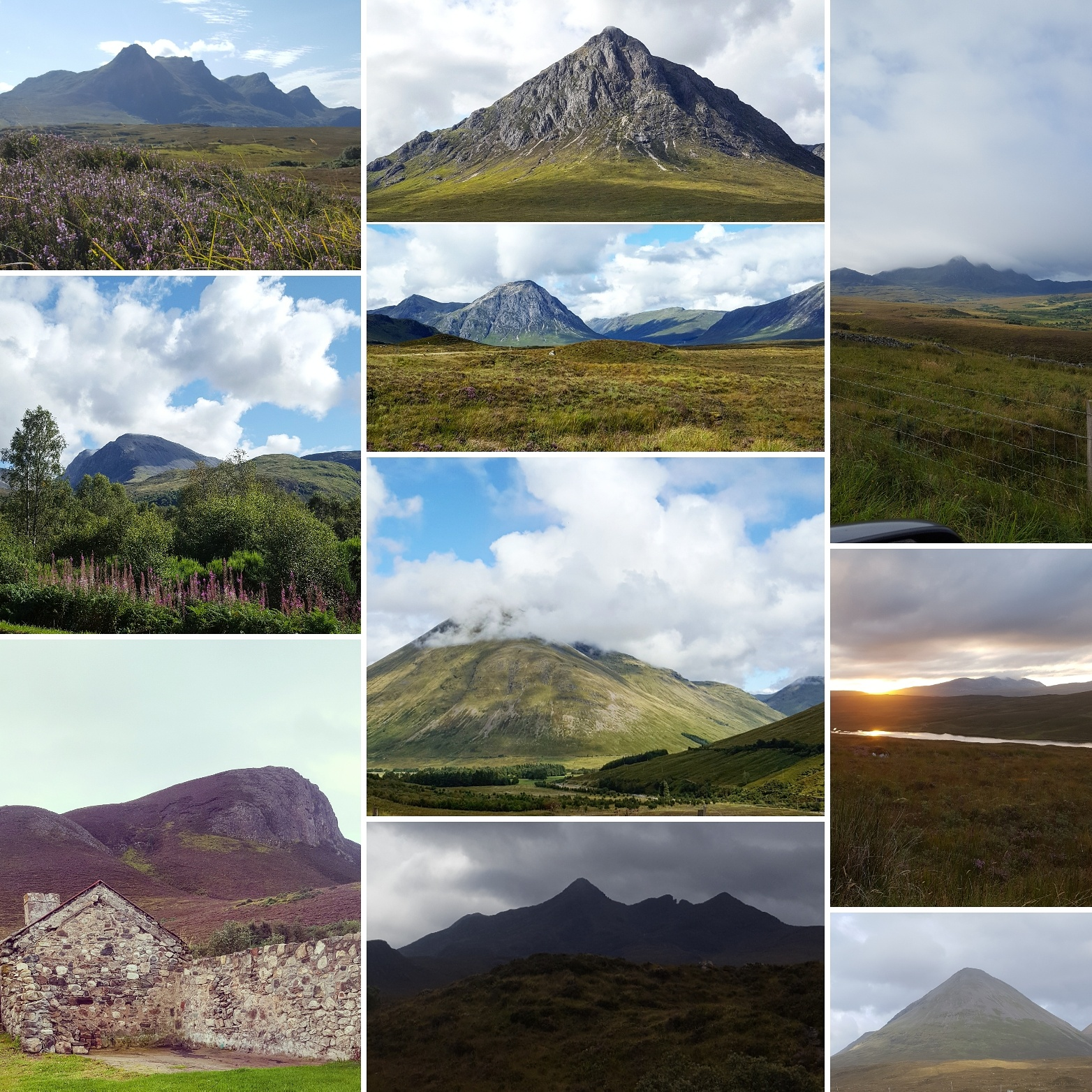 Ben Loyal - Buachaille Etive Mor - Beinn Dorain - Ben Nevis - Ridge in Skye - The Last Krystallos