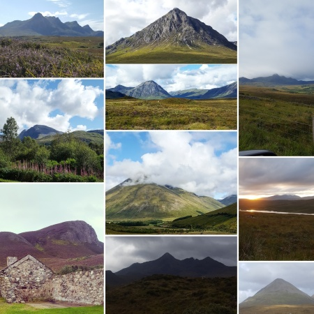 Ben Loyal - Buachaille Etive Mor - Beinn Dorain - Ben Nevis - Ridge in Skye - The Last Krystallos