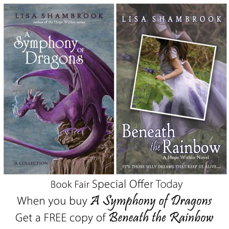 Book Fair Special Offer Today Symphony and Rainbow ad