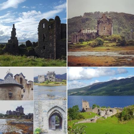 Castle Sinclair Girnigoe Wick - Eilean Donan nr Skye - Urquart Castle Loch Ness - The Last Krystallos