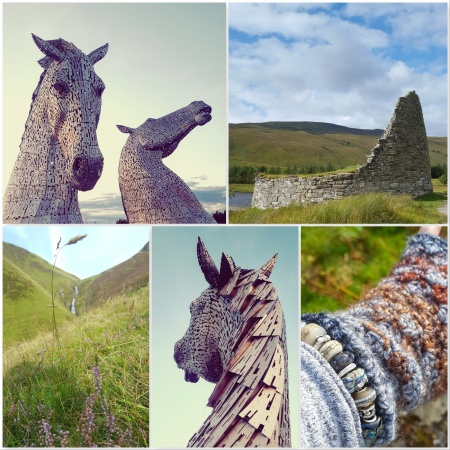 Kelpies at Falkirk - Roundhouse Ben Hope - Grey Mares Tail Waterfall Moffat - The Last Krystallos