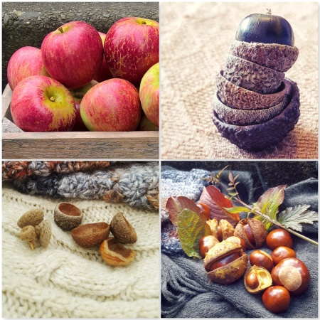 Loving Autumn - Fruits Acorns Conkers Apples - The Last Krystallos