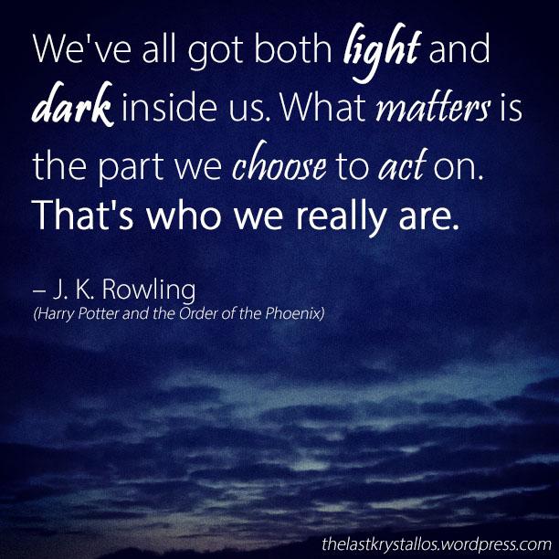 Both Light and Dark - J. K. Rowling - The Last Krystallos