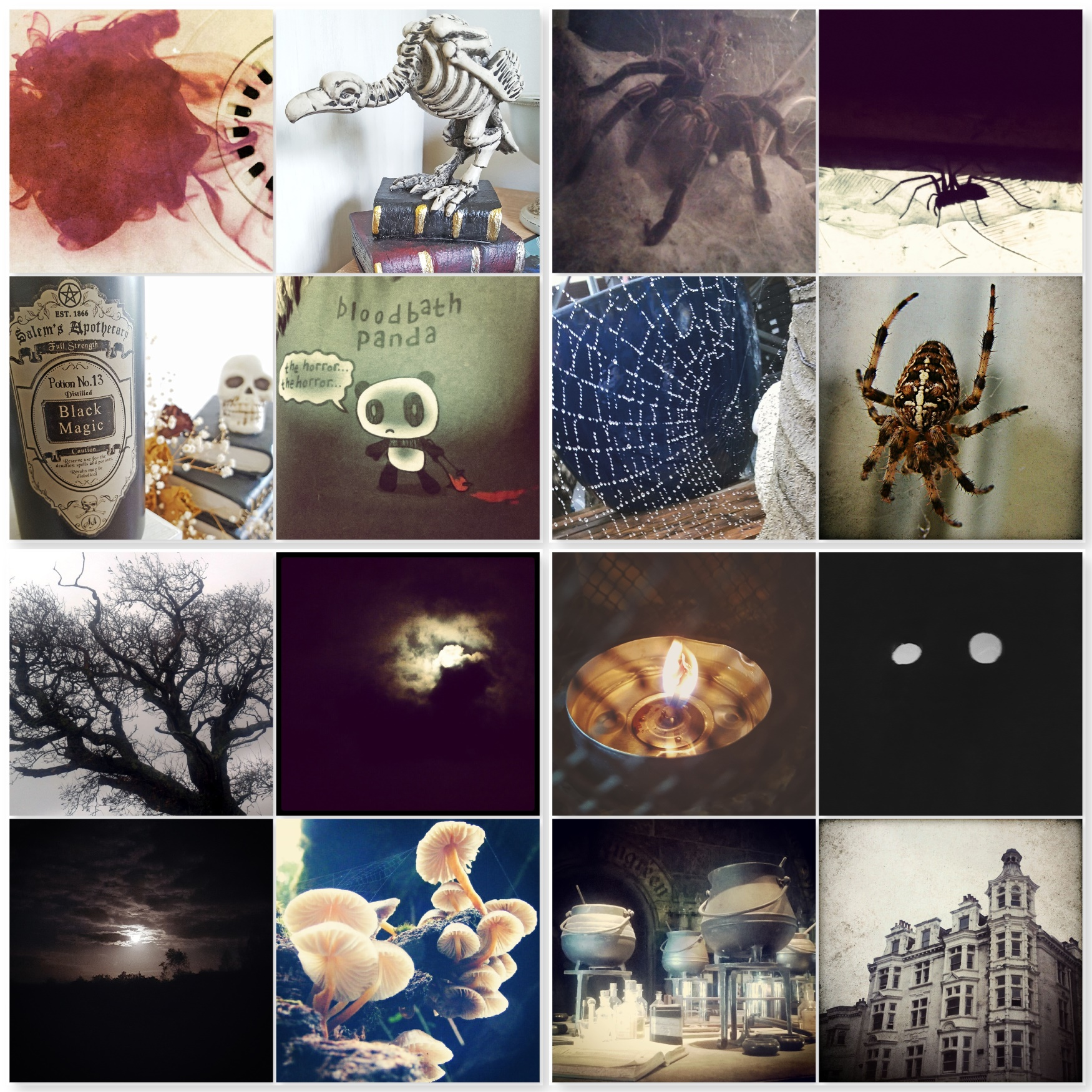 Halloween - Blood, Skeletons, Magic, Moon, Trees, Haunted House, Cauldrons - The Beast Bits of Halloween - The Last Krystallos