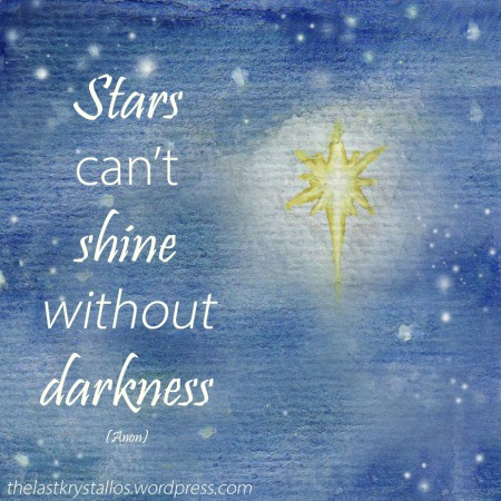 Stars can't shine without darkness - The Last Krystallos