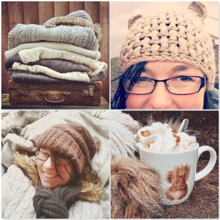 Woollies - Cat Hat - Furry - Squirrel Hot Choc