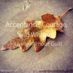 Acceptance, Courage, and Wisdom - Living without Guilt - The Last Krystallos
