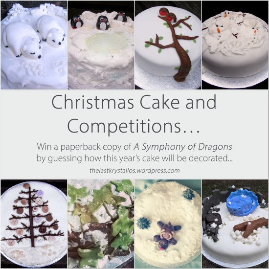 Christmas Cake and Competition 2017 - The Last Krystallos