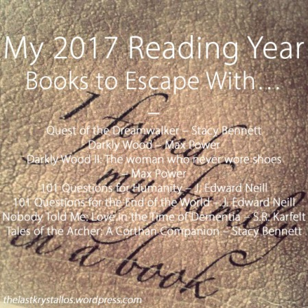 My 2017 Reading Year – Books to Escape With - The Last Krystallos