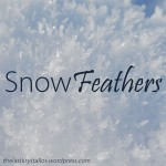 Snow Feathers title for The Last Krystallos blog post