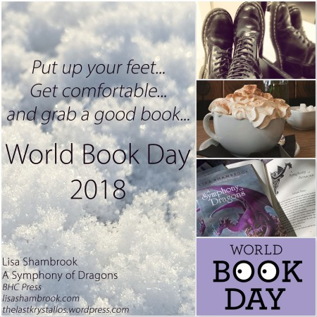 Put up your feet, get comfortable, and grab a good Book. Advert for World Book Day 2018 - The Last Krystallos