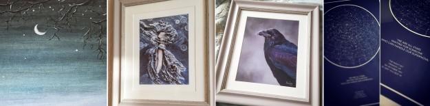 Art - Hither the Wind - Winter Raven - Constellations - The Last Krystallos