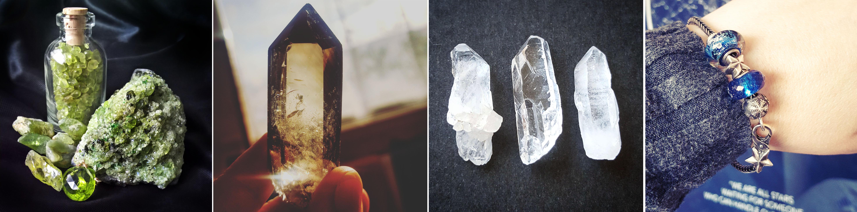 Peridot - Smoky Quartz - Clear Quartz - Trollbeads - The Last Krystallos