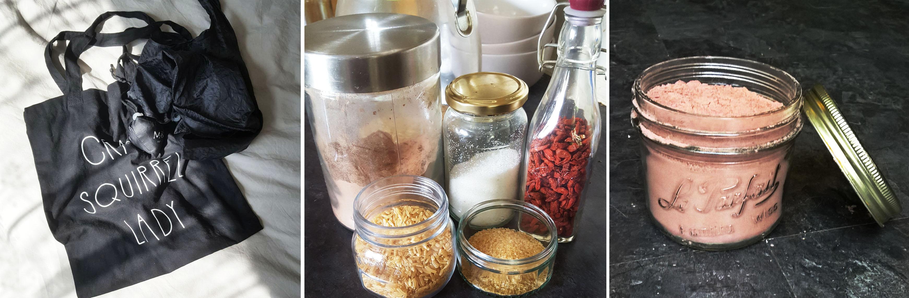Reusable Shopping Bags - Glass Jars - Hot Choc - the last krystallos