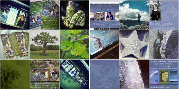Green Palette - Slate Palette - thelastkrystallos - lisa shambrook