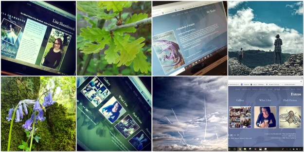 Green Website - Slate Website - thelastkrystallos - lisa shambrook