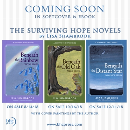 The Surviving Hope Novels coming soon, new cover ad Lisa Shambrook BHC Press
