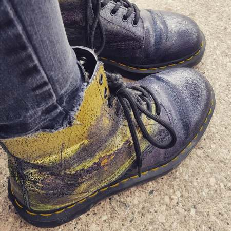 JMW Turner 1460 Dr Martens Fishermen at sea - Aug 2018