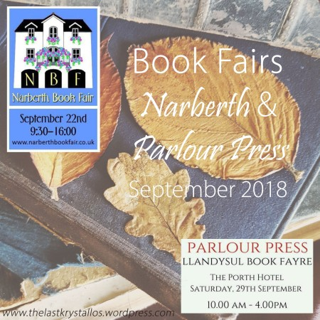 Book Fairs Narberth and Parlour Press