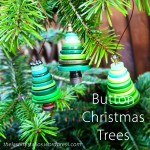 Button Christmas Trees - The Last Krystallos