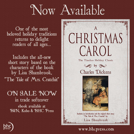A Christmas Carol by Charles Dickens intro and The Tale of Mrs. Cratchit by Lisa Shambrook
