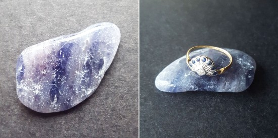 September - Sapphire - Water Sapphire, or iolite