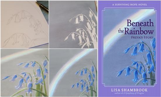 Beneath the Rainbow Painting Covers - Lisa Shambrook - The Last Krystallos