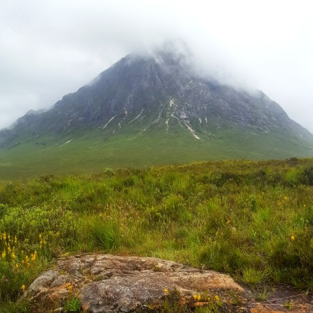 Buachaille Etive Mor in cloud - The Last Krystallos