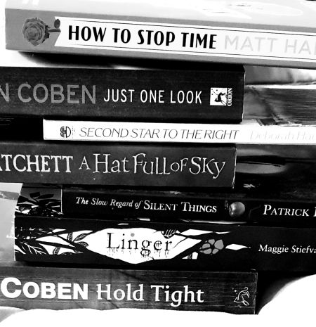 Bookspine Poetry - How to Stop Time - Just One Look - Second Star - Hat Full Sky - Slow Regard Silent - Linger - Hold Tight