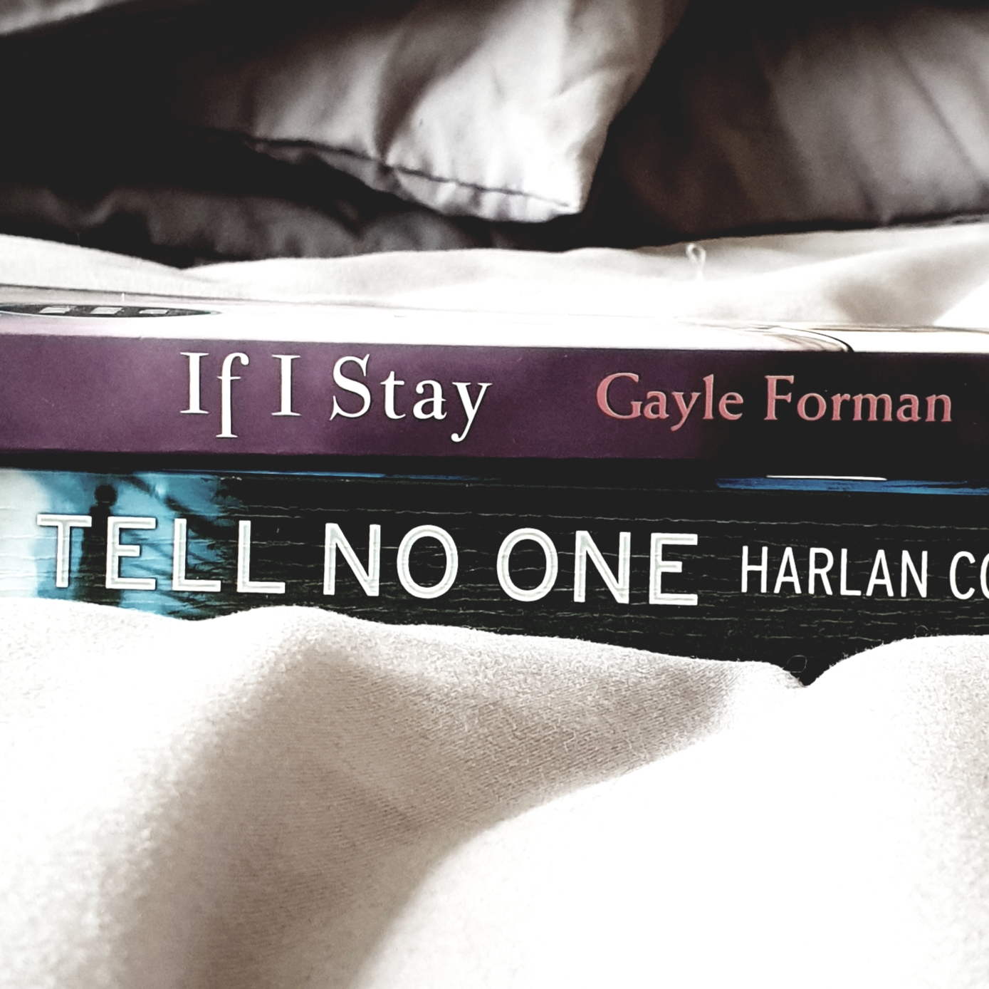 Bookspine Poetry - If I Stay - Tell No One - The Last Krystallos