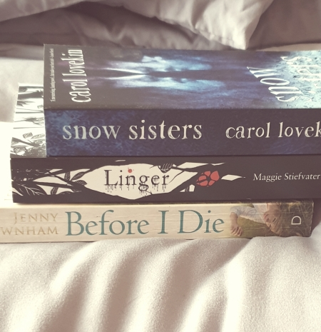 Bookspine Poetry - Snow Sisters - Linger - Before I Die - The Last Krystallos
