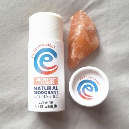 Earth Conscious Grapefruit and Lemon Natural Deodorant - The Last Krystallos