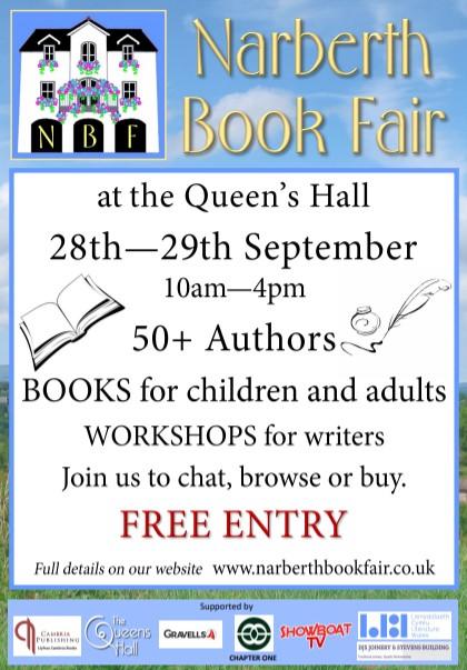 Narberth Book Fair poster 2019