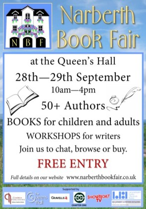 Narberth Book Fair poster 2019
