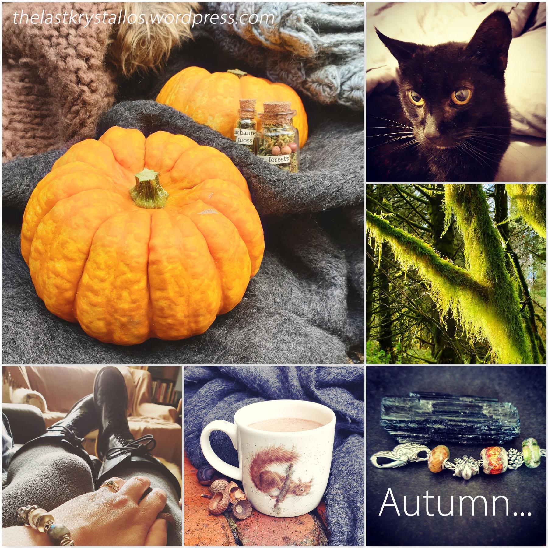 Enchanting October - Autumn - the last krystallos