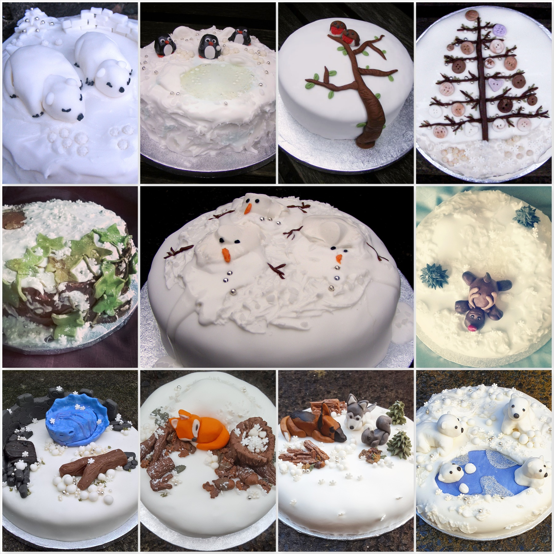 2009 - 2019 ten years of Christmas Cakes - the last krystallos