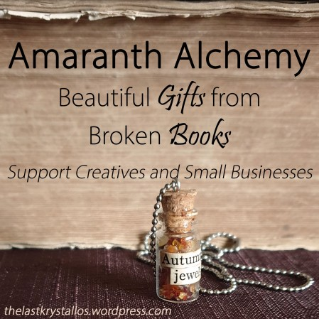 Amaranth Alchemy – Beautiful Gifts from Broken Books