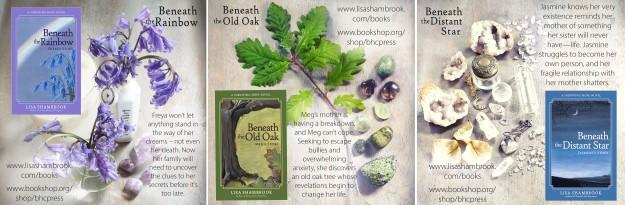 Beneath The Rainbow, Beneath the Old Oak, Beneath the Distant Star by Lisa Shambrook ads