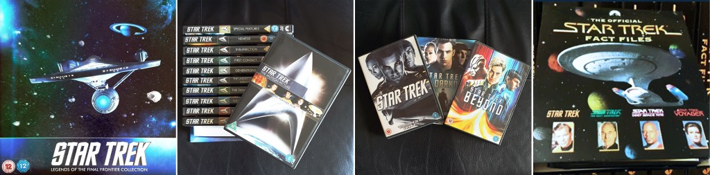 Star Trek Movies DVD Set, Kelvin Timeline, and Official Fact Files